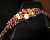 CLEARANCE SALE ! !  75% off SALE!  Viking Knit Bracelet in Browns