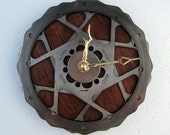 Recycled Double Bicycle Disc Brake Wall Clock