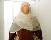 Medieval Queen's Beaded Veil