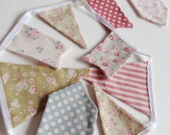 Fabric Bunting Banner | MINI | Tilda