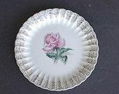 "8 Vintage American Limoges 10"" Plate- Le Fleur Rouge"