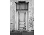 Architecture Photography Door Photography Rustic Door Black and White Photography Rustic Decor Fine Art Photography