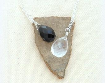 Best friend gift crystal necklace girlfriend gift boyfriend gift boyfriend girlfriend gift jewelry bestfriend gift unique wedding gift
