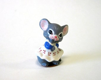"Church mouse 2"" girl in blue"