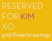 RESERVED FOR KIM   gold threader earrings with large gold leaf charm