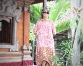 Ketut Dress, Bali Batik, Rayon, My Bali Closet