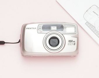 Pentax IQ Zoom EZY-S Date 35mm Compact Film Point and Shoot Camera - Fully Working