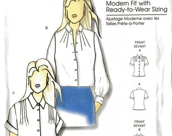 Butterick 5365 Sewing Pattern, Connie Crawford, XXL - 6X, Ladies Blouses, Ladies Tops