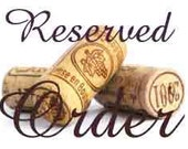 Reserved order for Nammers Crafts  Santa Claus wine cork ornament/bottle tags/gift tags