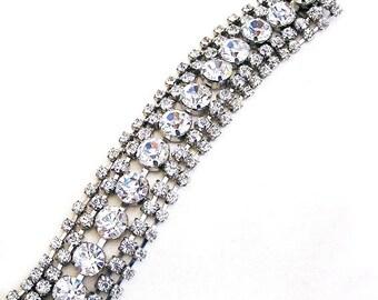 Austria Crystal Clear Rhinestone Bracelet