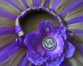 Washington Huskies Tutu - by Cuddlehugs With Free Coordinating Flower Clip - Newborns Infants - Football
