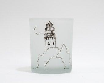 Evanston lighthouse votive holder