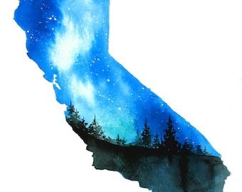 California Dreaming, original painting