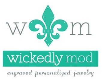Back engraving for items verified with Wickedly Mod
