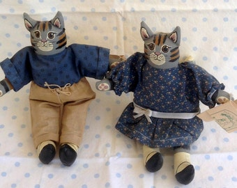 Cat Dolls Henry and Miss Nellie