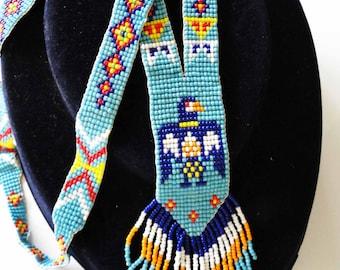 Navtive American Beaded Phoenix Necklace