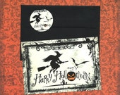 Halloween, Cards w/Stickers, Happy Halloween, Flying Witch