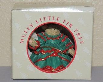 Muffy Vanderbear Muffy Little Fir Tree Ornament
