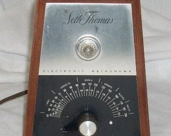Mid Century Seth Thomas Electronic Metronome
