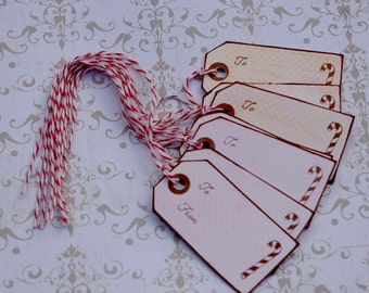 Holiday Gift Tags, To From Christmas Tags