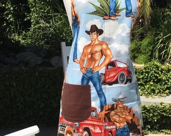 Sexy Cowboy Apron!