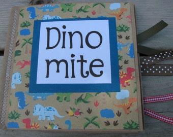 DINO-MITE Dinosaur Scrapbook