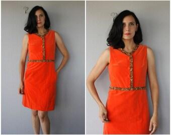 Vintage 60s Dress | Vintage 1960s Dress | 60s Party Dress | 1960s Cocktail Dress | 60s Velvet Dress | 1960s Holiday Dress