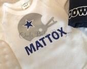 Dallas Cowboys - Football Fan- Cowboys -Dallas-Custom Onsie