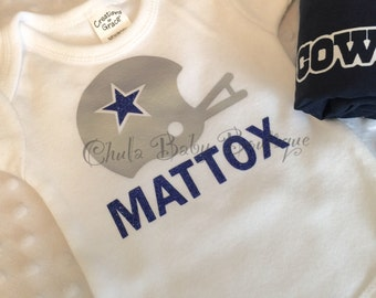 Dallas Cowboys - Football Fan- Cowboys -Dallas-Custom Onsie