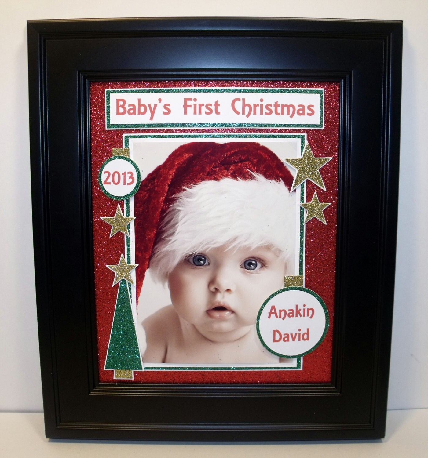 Baby S First My First Christmas Picture Frame Free