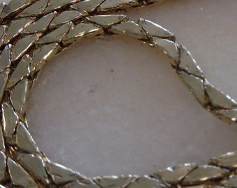 Gorgeous Substantial 26 inch 14kt Yellow Gold Linked Chain