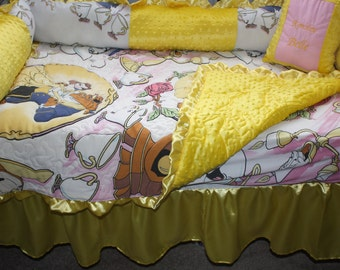 Beauty and the Beast  Crib Baby Bedding