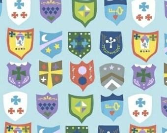 SALE - Windham Fabrics - Royal Crests in Light Blue