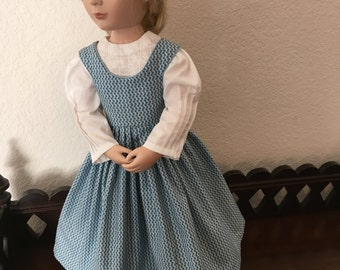 Little Women style Jumper and Blouse for 16 inch doll