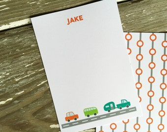 Personalized Notecards - Set of 8 - Jake