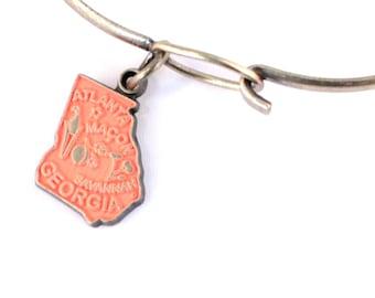 Georgia Love Charm Bracelet or Necklace