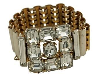 Very Rare 1940s Eisenberg Bracelet Book Piece!