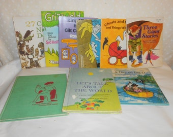 Childrens books 6 paper backs 3 hard backs Talk about the world Day on the Big O