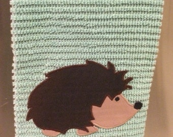Hedgehog applique patch