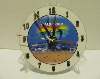 Walk Your Own Path CD clock