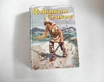 Robinson Crusoe Book, Sea Travel, Adventure Book, shipwreck Story, Robinson Crusoe Book,Ocean Adventures,Children's Reading,Robinson Crusoe