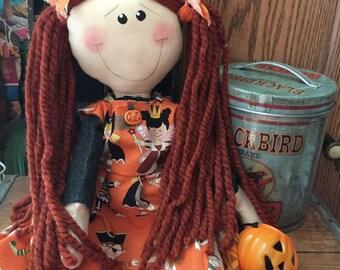 Raggedy Annie Halloween Kids Trick or Treat