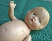 Price Reduced - Bisque Doll - German? - in good condition for its age - intact and still has shoes on!