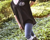 SALE - 25% OFF:  Monogrammed Slouch Sweater