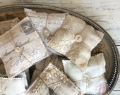 French calligraphy lavender sachet bundle