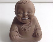Vintage Ho Ho Laughing Buddha by Rose O'Neill  1960's Cameo Doll.  Great condition and Squeaker works.