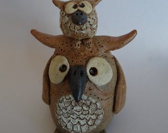 Owl and Owlet Collectible Figurines