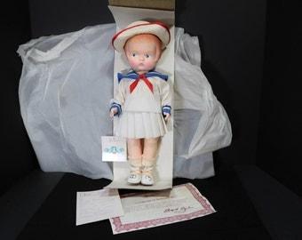 "1987 Vintage Effanbee Doll ""Patsy"" Sailor 60th Anniversary"
