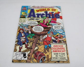 1992,Archie Comic, #1, World of Archie
