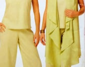 Top, Coverup, and Pants Sewing Pattern UNCUT See & Sew B5170 Sizes 16-22